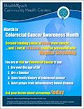 March is Colorectal Cancer Awareness Month